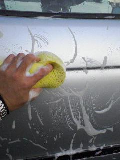 洗車やーめた!